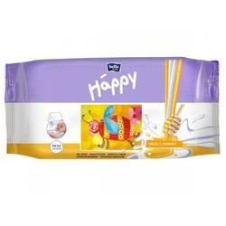 Bella Chusteczki nasączone Baby Happy Mleko & Miód 64szt.