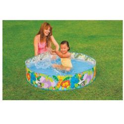 INTEX Basen Clearview Snapset™ Pool - Happy Animals