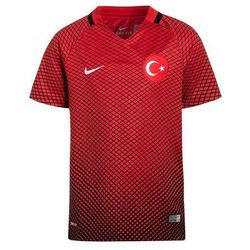 Nike Performance 2016 TÜRKEI HOME STADIUM Koszulka reprezentacji black/university red/white