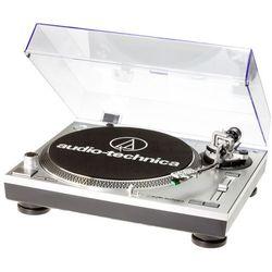 Gramofon AUDIO-TECHNICA AT-LP120-USBHC Srebrny