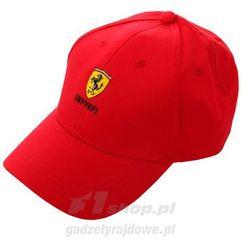 Czapka baseballowa czerwona Ferrari F1 Team