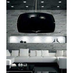 LAMPA wisząca STILIO LDP 6018-400 BK Lumina Deco metalowa OPRAWA ZWIS czarny