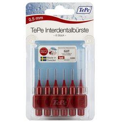 Tepe szczoteczka międzyzębowa 0,5mm czerwona 6 szt.