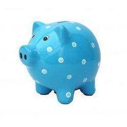 Skarbonka niebieska świnka Jabadabado