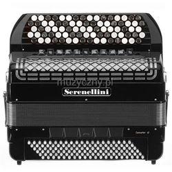 Serenellini 454 CR 45(82)/4/11 120/5(F/N-2)/5 Piccolo akordeon guzikowy z konwertorem (czarny) Płacąc przelewem przesyłka gratis!