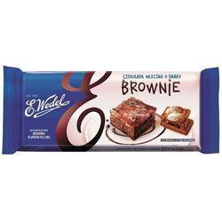 E. WEDEL 290g Czekolada mleczna o smaku brownie