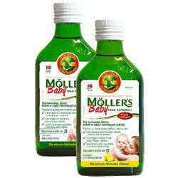TRAN MOLLERS Baby Norweski 250ml sm.cytrynowy