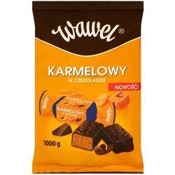 WAWEL 1kg Karmelowy w czekoladzie Cukierki z czekoladą mleczną i alkoh
