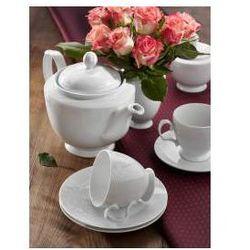 Serwis kawowy dla 12 osób porcelana MariaPaula Romantyczna Koronka