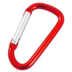 Karabinek do kluczy Rockland czerwony
