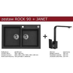 Zestaw ALVEUS ROCK 90 + JANET (kolor CZARNY)