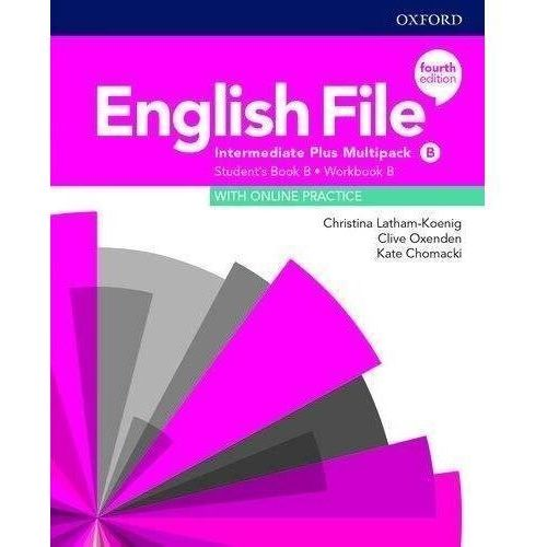 English File Intermediate Plus Multipack B with Student Resource Centre Pack (4th) (opr. broszurowa)