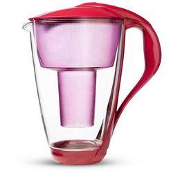 Dzbanek szklany filtrujący wodę 2l LED - Dafi (Kolor:: Malinowy)