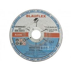 Tarcza do cięcia metalu 125x2,5 BLAUFLEX