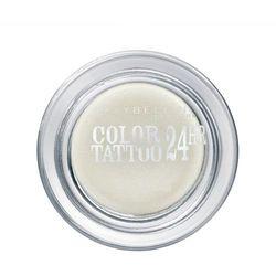 MAYBELLINE Eye Studio Color Tattoo 24 HR cien do powiek w kremie 45 Infinite White 4ml