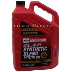 Syntetyczny olej silnikowy Motorcraft 5W20 4,73l Lincoln Mercury