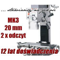 WIERTARKA SŁUPOWA WIERTARKO FREZARKA DO METALU MAKTEK HK20 VARIO 20mm EWIMAX