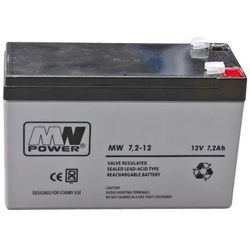 "AKUMULATOR ""MW POWER"" AGM 12V / 7.2Ah do ARM300, ARM350, ARM400"