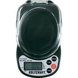 Waga kieszonkowa Voltcraft PS-500C, maks. 500 g, podziałka 0,05 g, wybór jednostki wagi
