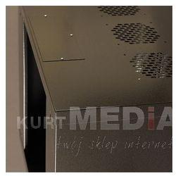 Szafa NetRack wisząca 19, 9U/400 mm grafit, drzwi przeszklone (019-090-400-012) Darmowy odbiór w 19 miastach!