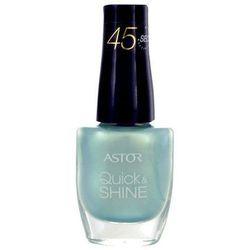 Astor Quick & Shine Nail Polish 8ml W Lakier do paznokci 403 Vibrant Purple