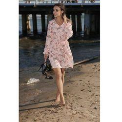 8a34c96d38 sukienki dzieciece sukienka bonprix pudrowy roz (od Sukienka typu ...