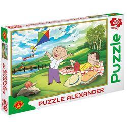 Maxi Bolek i Lolek Piknik Puzzle