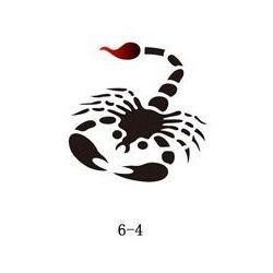 Szablon do błyszczącego tatuażu Fengda 06-04