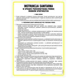 Instrukcja sanitarna w sprawie przechowywania próbek środków spożywczych