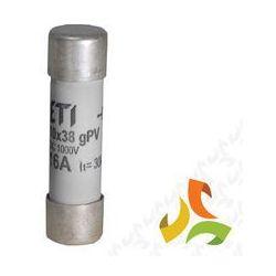 Bezpiecznik, wkładka topikowa cylindryczna CH10 16A PV 002625107 ETI