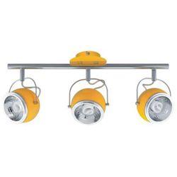 Spot LAMPA sufitowa BALL 2686303 Spotlight metalowa OPRAWA halogenowa żółty