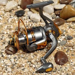 Like Daiwa DB3000 Fishing Reel Metal Head Interchangeable Rock Arm carretilha pesca Series Spinning Reel