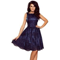 5837f5ffaaba03 sliczna sukienka z koronki granatowa 44 - porównaj zanim kupisz