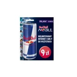 Starter PLAY Red Bull 9 PLN z puszką