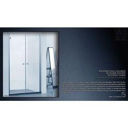 DRZWI PRYSZNICOWE AXISS GLASS AN6222K 900mm