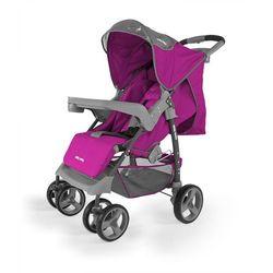 Milly Mally, Vip Purple, wózek spacerowy Darmowa dostawa do sklepów SMYK