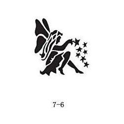 Szablon do błyszczącego tatuażu Fengda 07-06