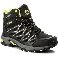 e6e9dc495ae399 Buty trekkingowe męskie Roddy Mid Wp Elbrus - Czarny-Limonkowy ...