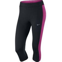 spodnie do biegania damskie 3/4 NIKE DRI-FIT ESSENTIAL CAPRI / 645603-016 - NIKE DRI-FIT ESSENTIAL CAPRI API:Promocja dla towaru o ID: 29105 (-30%)