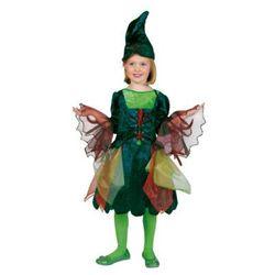 FUNNY FASHION Strój karnawałowy Elf PANSY z kapeluszem