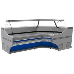 Lada chłodnicza narożna | 2500x1540x(H)1250 mm