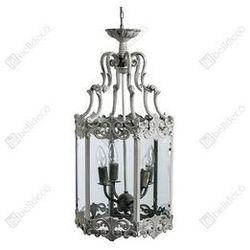 Stylowa Lampa sufitowa klatka 2 Belldeco Grigio