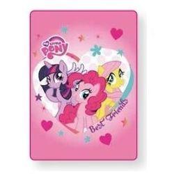 Koc akrylowy My Little Pony 100x140 cm