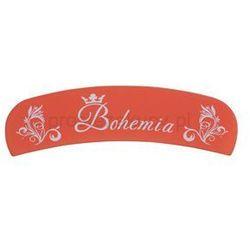 Bohemia Crystal Bohemia Matt szklany pilnik półokrągły + do każdego zamówienia upominek.