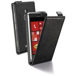 Cellular Line Etui Flap Essential do Nokia Lumia 925, Czarne (CFLAPESSENL925BK) Darmowy odbiór w 19 miastach!