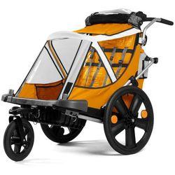 Przyczepka rowerowa BELLELLI City Pomarańczowa + DARMOWY TRANSPORT! + Zamów z DOSTAWĄ JUTRO!