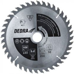 Tarcza do cięcia DEDRA H19024E 190 x 16 mm do drewna HM