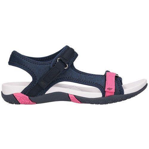 eabe34518 Damskie sandały sportowe SAD002 4F - Granatowy - porównaj zanim kupisz