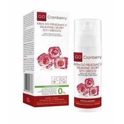GO Cranberry krem do pielęgnacji delikatnej skóry szyi i dekoltu - 50 ml