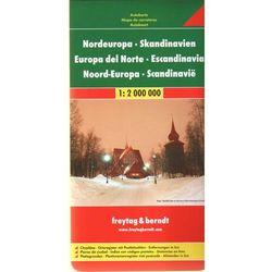 Skandynawia. Północna Europa. Mapa samochodowa, składana 1:2 000 000. Freytag&Berndt (opr. twarda)